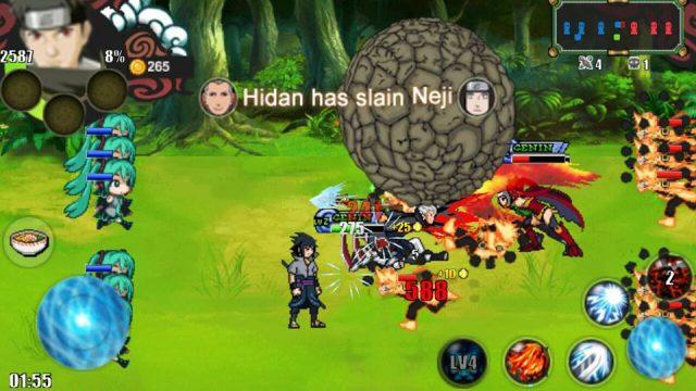 Tampilan Game Naruto Senki OverCrazy