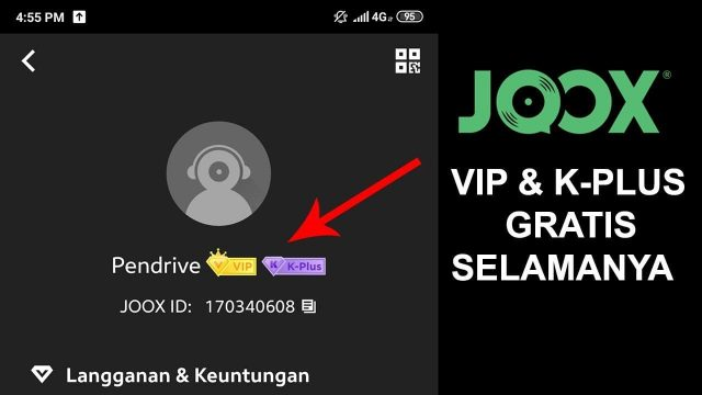 Cara Mendapatkan Akun Joox VIP Selamanya