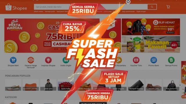 Cara Mendapatkan Flash Sale Shopee