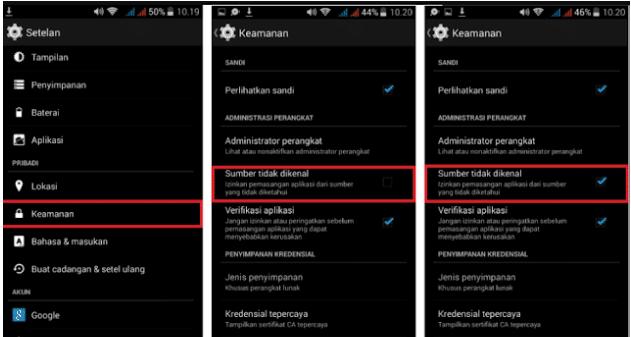 Cara Install FB Lite Mod Apk
