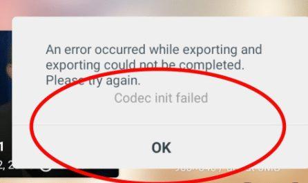 Cara Mengatasi Masalah Codec Init Failed Error