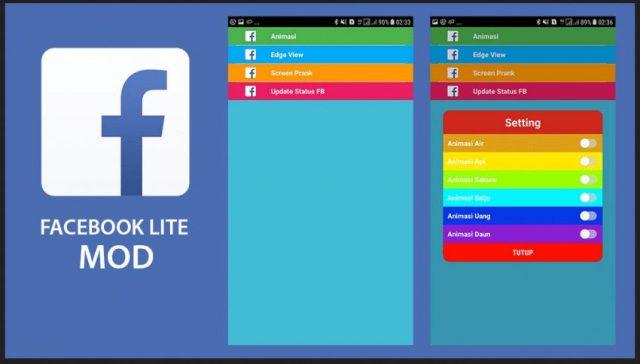 Download FB Lite Mod ApkTransparan