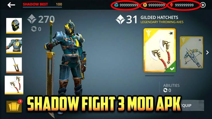 Download Shadow Fight 3 MOD APK