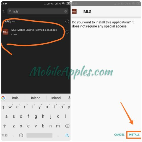 Apk IMLS Mobile Legend