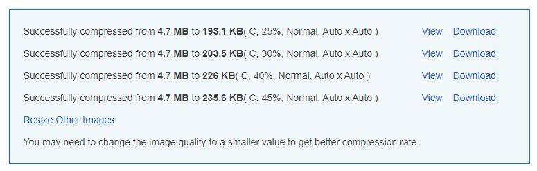 compress jpg 200 kb