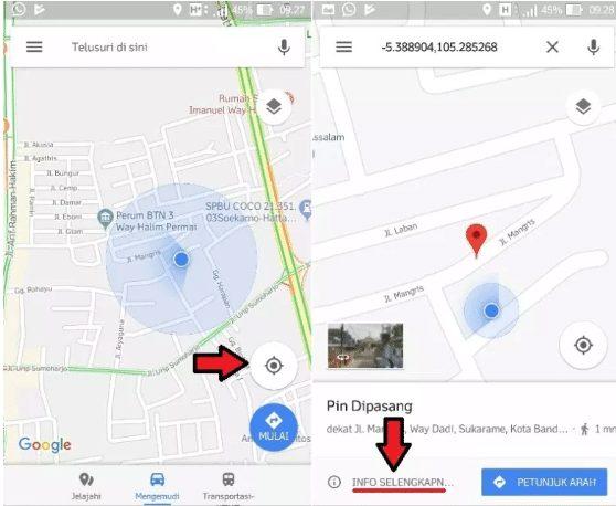Cara Mendaftarkan Alamat di Google map Lewat HP