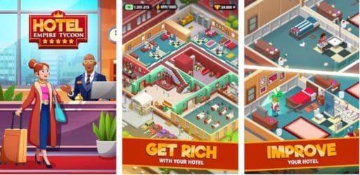 Download Hotel Empire Tycoon Mod Apk Terbaru