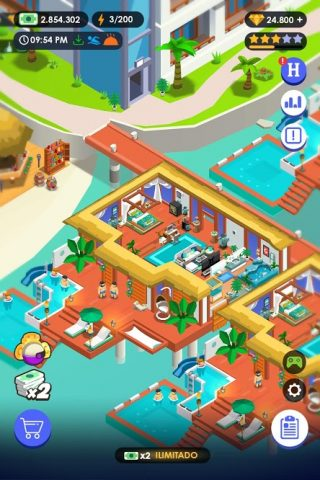Download Hotel Empire Tycoon Mod