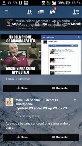 FB Lite Transparan Mod Apk