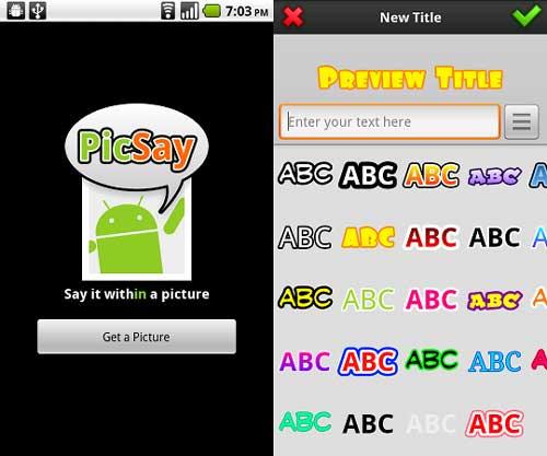 picsay-Add-text